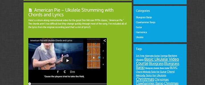 Top 10 Websites For Learning Ukulele Chords