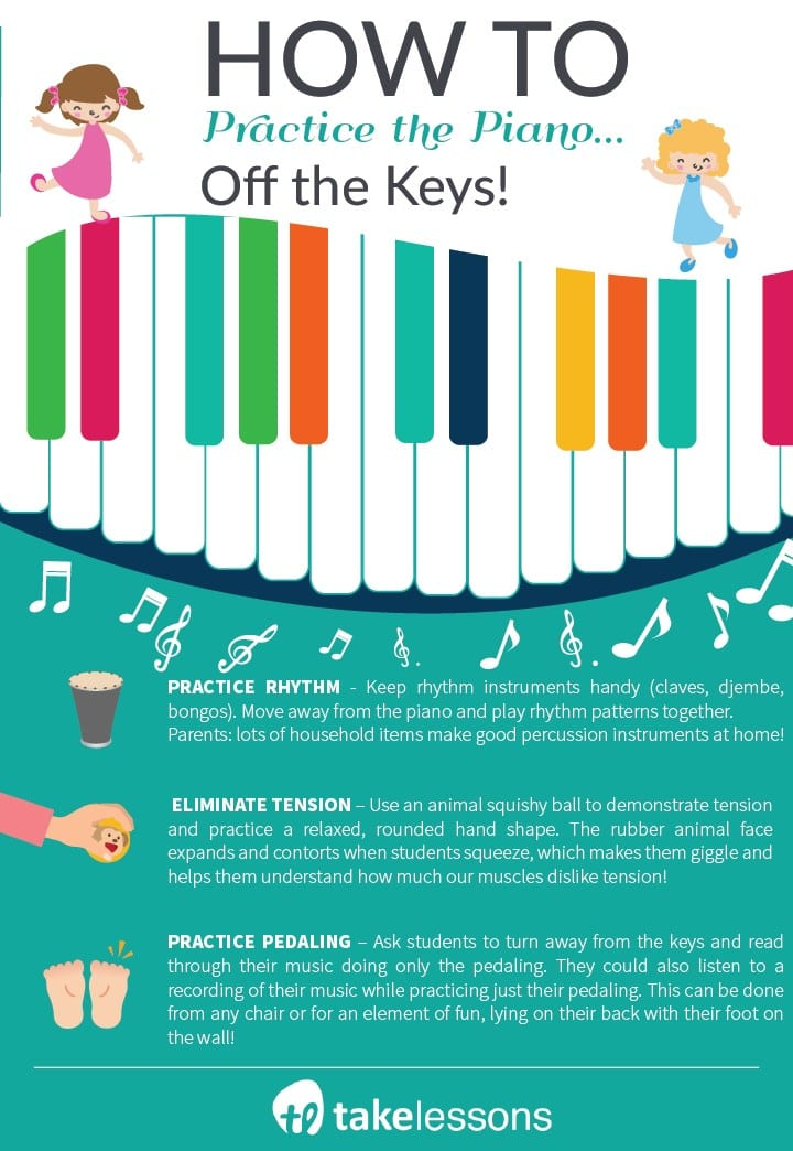 How to Practice Piano... Off the Keys - Kids