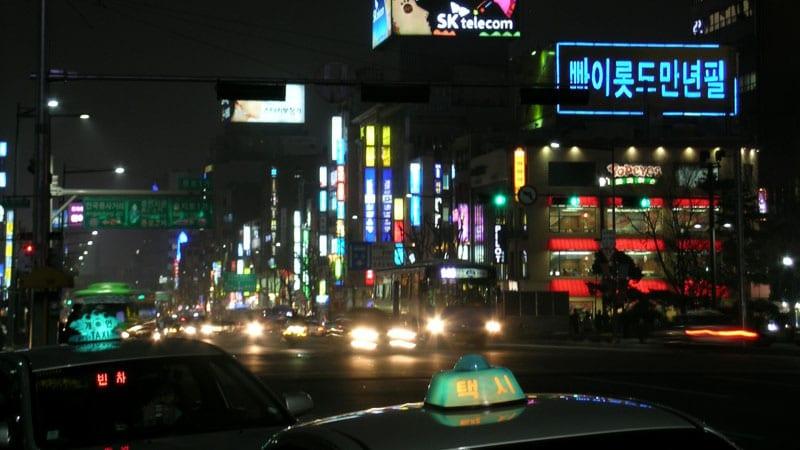 Visit Korea - Seoul night life