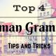 Top 4 German Grammar Tips and Tricks