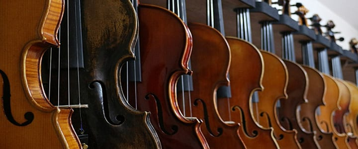 top five violin brands for beginner and intermediate students