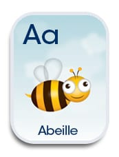 photograph about Printable French Flashcards referred to as Pay attention and Study: French Animal Alphabet Flashcards