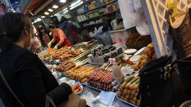 visit Korea - Korean street food