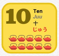 Japanese Numbers: Learn How to Count 1-10 [Infographic
