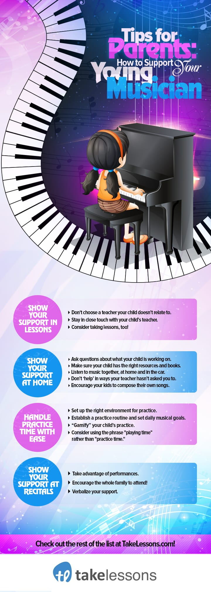25 Tips for Supporting Your Young Musician [Infographic]