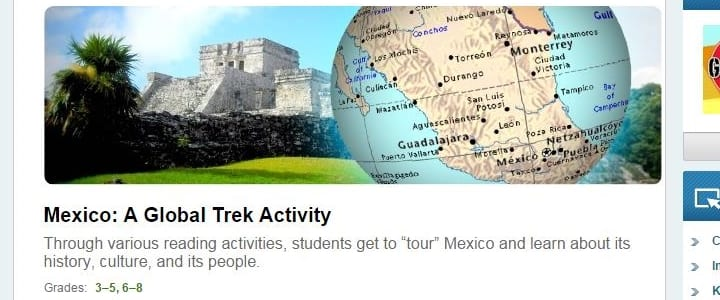 Mexico virtual field trip