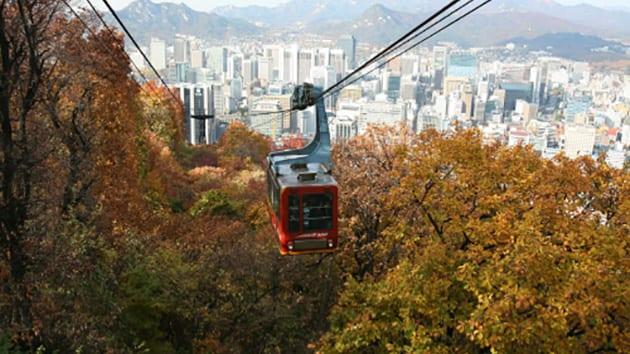Visit Korea - Namsan Cable Car