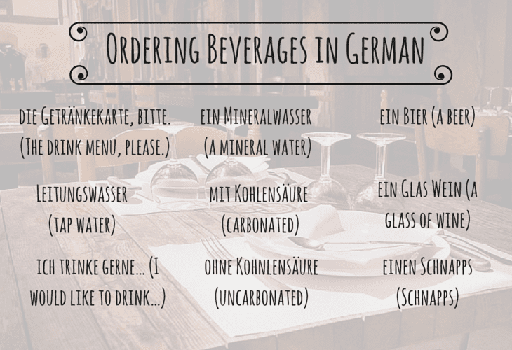 Common German Phrases and Etiquette Tips for Dining Out : THE NEW YOU from takelessons.com size 730 x 500 png 551kB