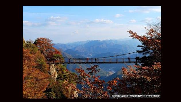 Visit Korea - suspension bridge