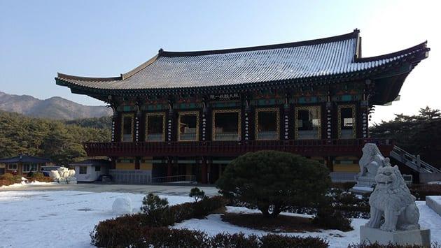 Visit Korea - temple