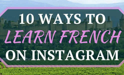 10 Ways to learn French on Instagram