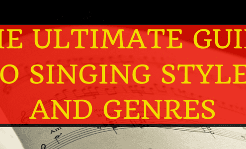 The Ultimate Guide to Singing Styles (Red)