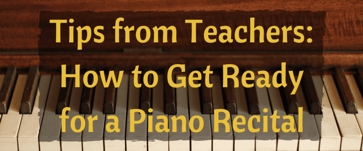 How to Get Ready for Your First Piano Recital [Infographic]