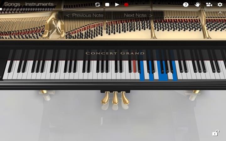 Piano 3D 720x450