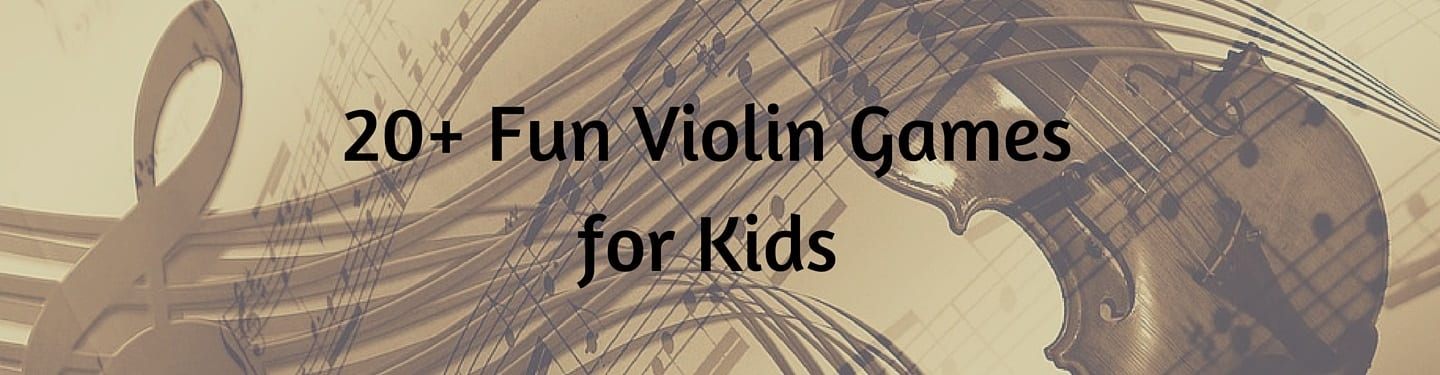 20+ Fun Violin Games for Kids – TakeLessons Blog