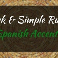 how to make spanish accent marks