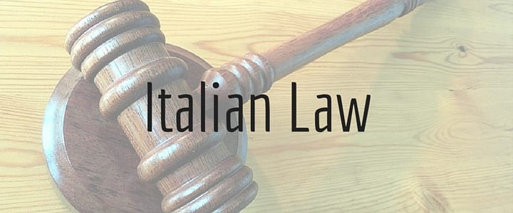 Fun and Interesting Italian Legal Facts