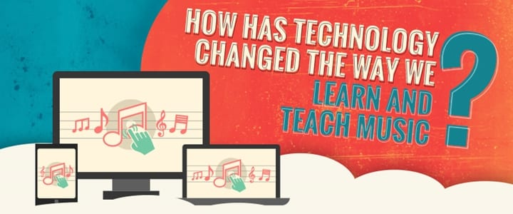How Has Technology Changed Music Lessons? [Infographic]