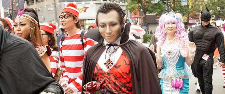Get in the Spirit: Celebrate Halloween in Japan
