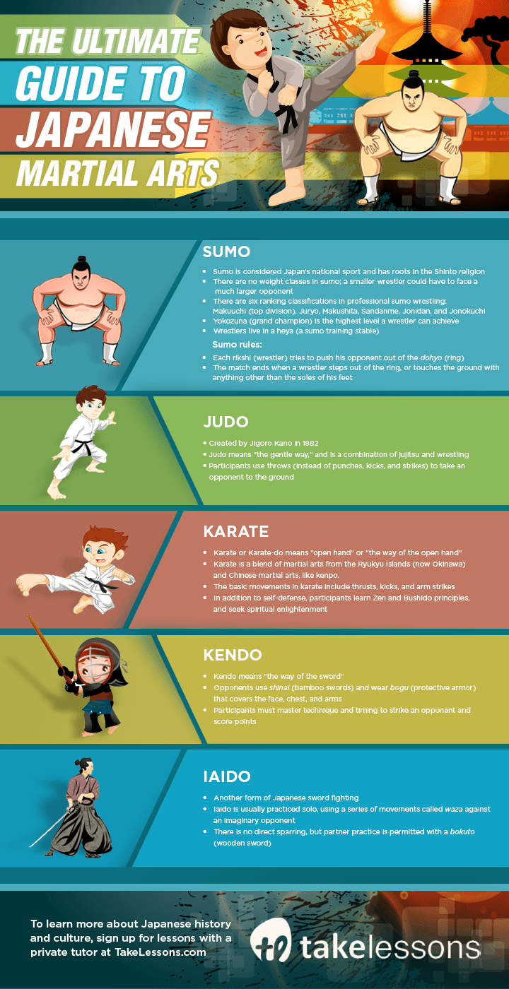 an overview of the japanese martial arts Get our free report that provides an overview of the various martial arts styles about us hapkido bears striking resemblance to the japanese martial art of aikido.