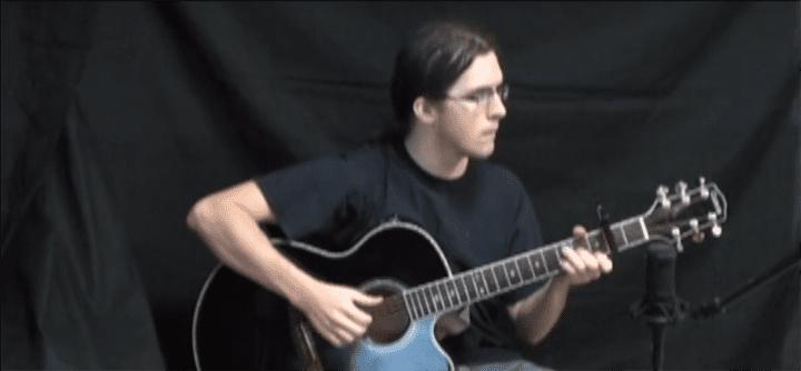 same old love guitar tutorial video