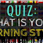 Quiz What is Your Learning Style