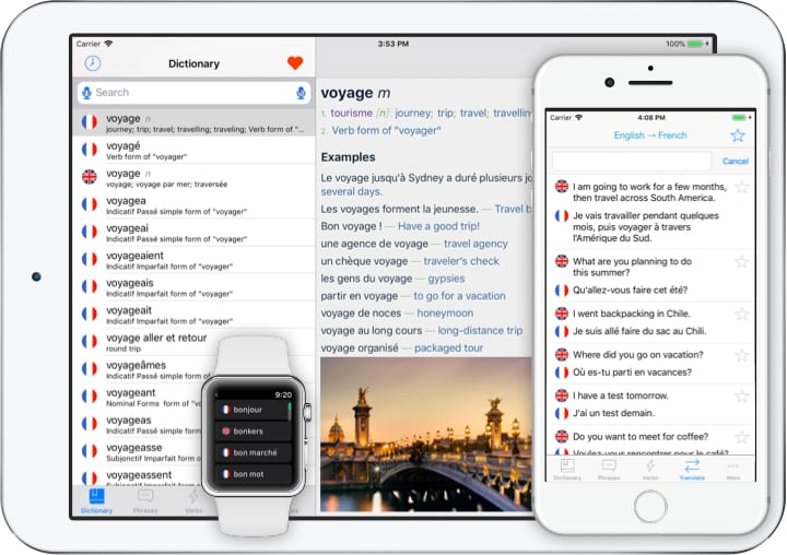 The 12 Best iPhone Apps for Learning French – TakeLessons Blog