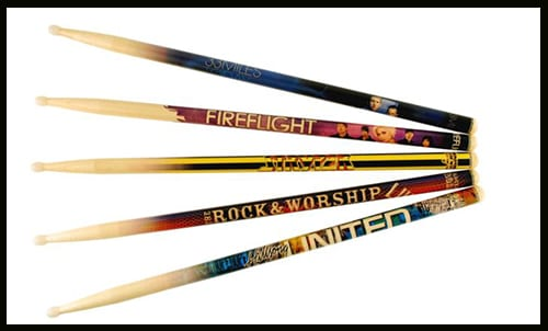 types of drum sticks