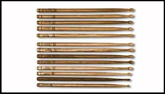 types of drum stickcs