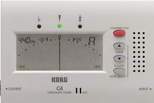 Tune Ukulele with a Korg Tuner