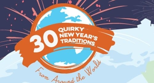 30 Quirky New Year's Eve Traditions 500x300