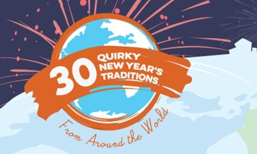 30 Quirky New Year's Traditions From Around the World