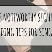 Sight Singing Practice and Tips