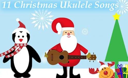 christmas ukulele songs
