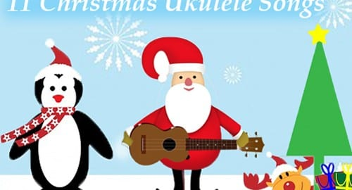 christmas ukulele songs
