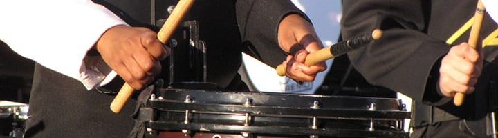 how to play snare drum