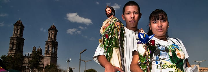 Mexican tradition: San Judas Tadeo