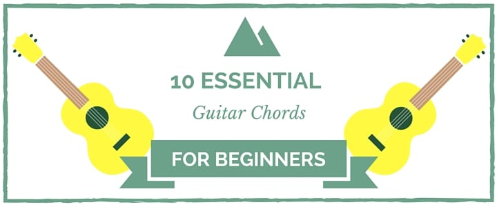 10 Basic, Common, and Easy Guitar Chords & Keys for Beginners to Learn