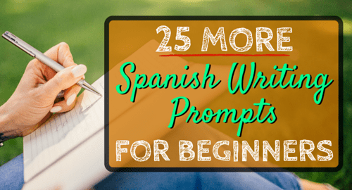 spanish essay prompts List of spanish essay topics that will catch your reader's attention freedom in choosing your school essay topic may sometimes be challenging you can feel yourself.