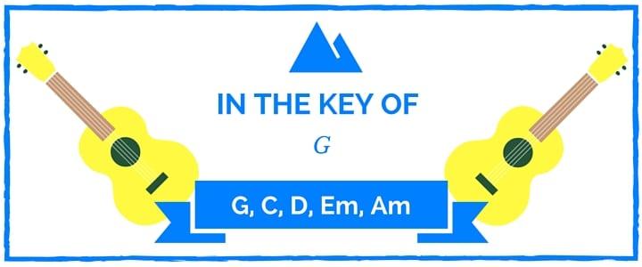 Key of G Chord