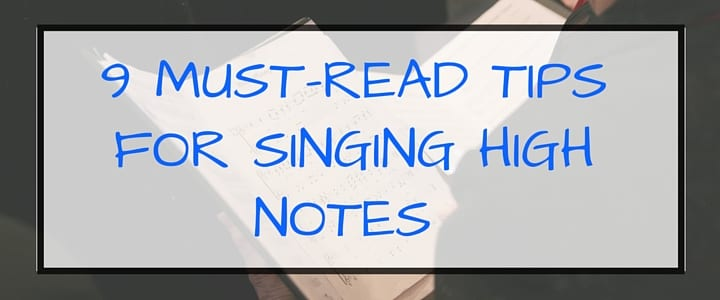 how to sing high notes tips