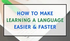 learning a language