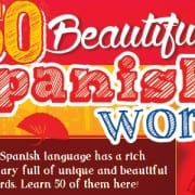 50 Beautiful Spanish Words 500x300
