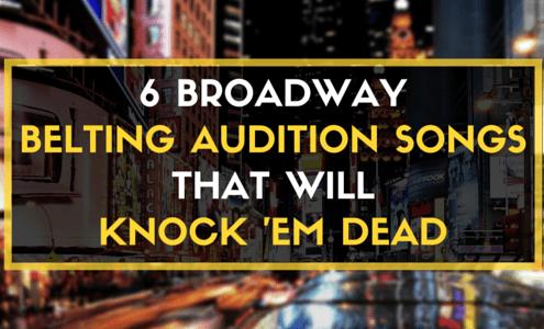 Broadway Belting Songs (3)