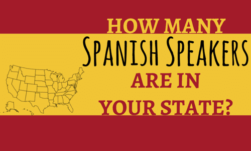 How Many Spanish Speakers Are in Your State?