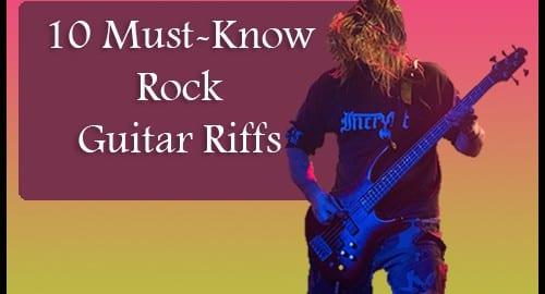 guitar riffs