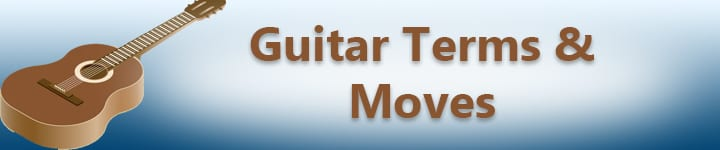 guitar terms and moves