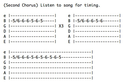 Guitar u00bb Guitar Tabs Back In Black - Music Sheets, Tablature, Chords and Lyrics