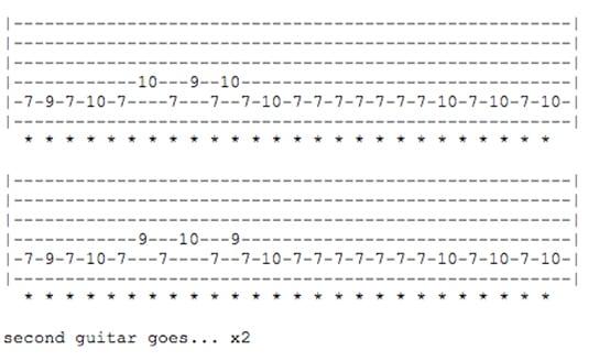 Classic rock guitar riffs to learn