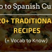 Intro to Spanish Cuisine (2)
